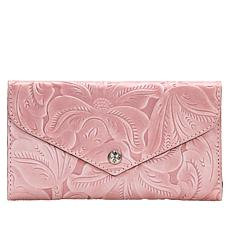"""As Is"" Patricia Nash Cori Envelope Wallet with RFID Protection"