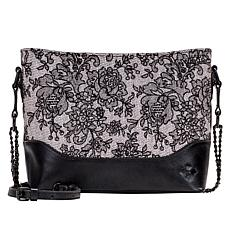 """As Is"" Patricia Nash Salvina Chantilly Lace Shoulder Bag"