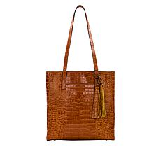 """As Is"" Patricia Nash Viana Leather Travel Tote"