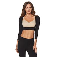 """""""As Is"""" Rhonda Shear Seamless Long-Sleeve Arm Smoother"""