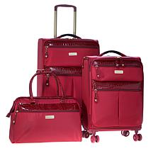 """As Is"" Samantha Brown 3-piece Ultra Lightweight Luggage Set"
