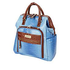 """As Is"" Samantha Brown Ombre Croco Backpack"