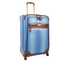 """""""As Is"""" Samantha Brown Ombré Croco-Embossed 30"""" Upright Spinner"""
