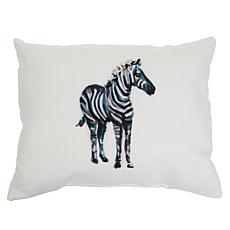 """""""As Is"""" Sewing Down South Animal Lumbar Pillow"""