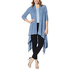 """As Is"" Skinnygirl Mouj Waterfall Cardigan"