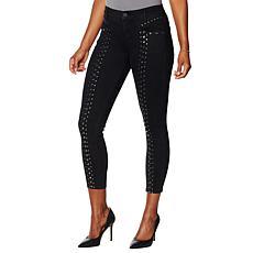 """""""As Is"""" Skinnygirl Scorpio Studded Skinny Ankle Jean"""