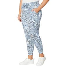"""As Is"" Skinnygirl Tara French Terry Jogger Pant"