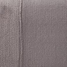 """As Is"" Soft & Cozy 4-Piece Plush Sheet Set"