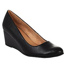"""As Is"" Soul Naturalizer Glimmer Wedge Pump"