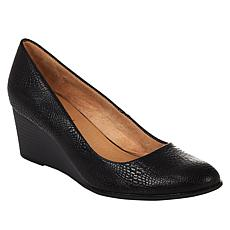 """""""As Is"""" Soul Naturalizer Glimmer Wedge Pump"""