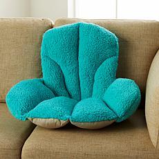 """As Is"" South Street Loft Sherpa Soft Backrest Pillow"