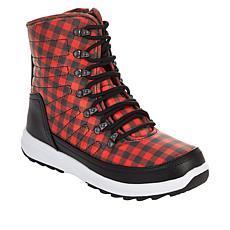 """""""As Is"""" Sporto® Amy Waterproof Lace-Up Sneaker Boot"""