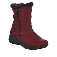 """As Is"" Sporto® Janis Waterproof Quilted Boot"