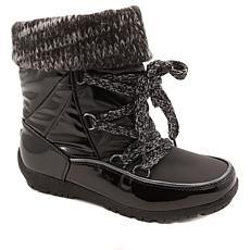 """""""As Is"""" Sporto® Knit Me Waterproof Cuffed Boot"""