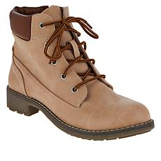 """""""As Is"""" Sporto® Leslie 3 Water-Resistant Lace-Up Hiker Boot"""