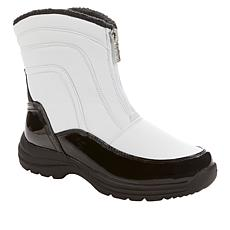 """""""As Is"""" Sporto® Reese Quilted Waterproof Zip-Front Boot"""