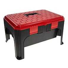 """As Is"" StoreSmith Step Stool Tool Box"