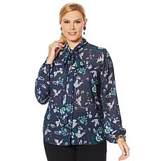 """As Is"" Vanessa Williams Boss Lady Blouse"