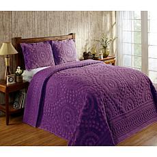 Ashton 100% Cotton Tufted Chenille Bedspread - Full