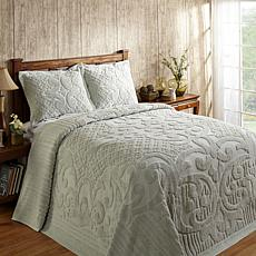 Ashton 100% Cotton Tufted Chenille Bedspread - Twin