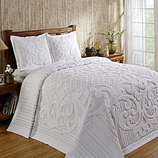 Ashton 100% Cotton Tufted Chenille Bedspread - Twin