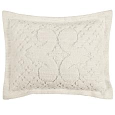 Ashton 100% Cotton Tufted Chenille Sham - Standard