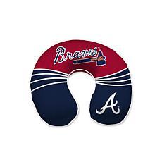 Atlanta Braves Memory Foam U-Neck Travel Pillow