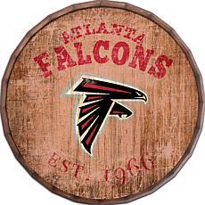 """Atlanta Falcons Established Date 24"""" Barrel Top"""