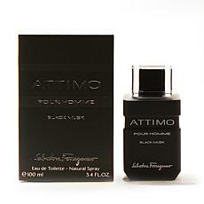 Attimo Black Musk by Ferragamo for men EDT Spray 3.4 oz.