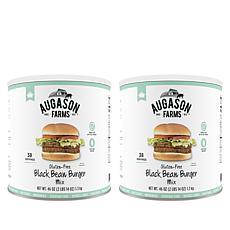 Augason Farms 2-pack Gluten Free Black Bean Burger Dry Mix