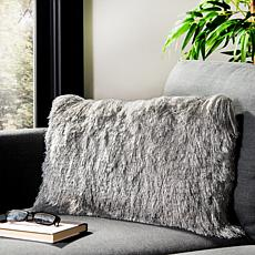 "august  &  leo   12"" x 20"" Shag Decorative Pillow"