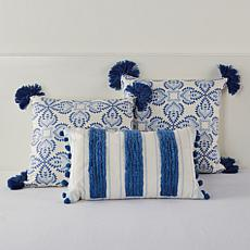 august & leo Set of Three Decorative Pillows