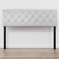 Avery Adjustable Faux Leather Queen Headboard