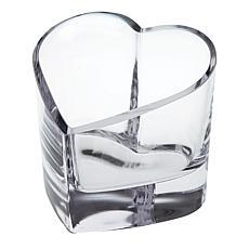 Badash Romance Mouth-Blown Heart Bowl