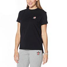 Badgley Mischka Short-Sleeve Cotton T-Shirt