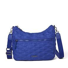 Baggallini Quilted Convertible Hobo Bag