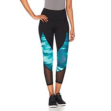 Balance by Marika Power Mesh Printed Legging with Side Pockets