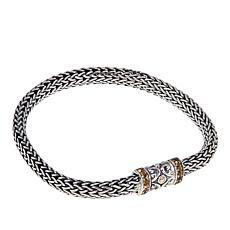 Bali Designs 0.32ctw Citrine Tulang Naga Bracelet