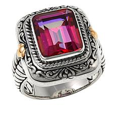 Bali Designs by Robert Manse 3.92ct Pink Quartz Cable Ring