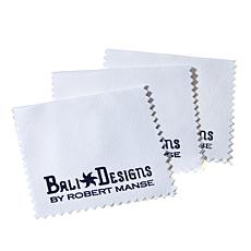 Bali Designs Set of 3 Microfiber Polishing Cloths