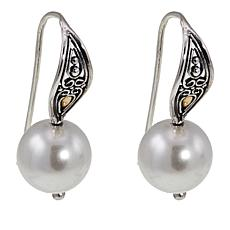 Bali Designs Shell Bead Drop Earrings