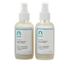 Bare Pits 2-pack Breathe Aluminum-Free Deodorant Spray
