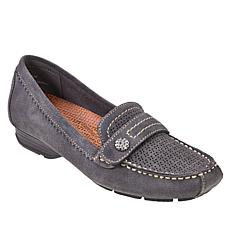 Baretraps® Oakes Posture Plus Suede Slip-On Moccasin