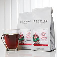 Barnie's Coffee Kitchen Santa's White Christmas Ground Coffee 2-pack