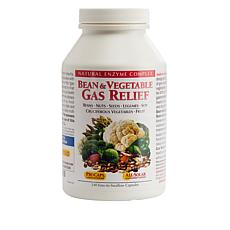 Bean and Vegetable Gas Relief - 240 Capsules