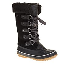 BEARPAW® Denali Leather Insulated Waterproof Duck Boot