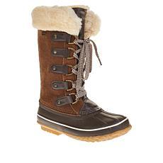 BEARPAW® Denali Leather Insulated Waterproof Duck Boot