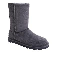 BEARPAW® Eliana Suede Sheepskin Boot with NeverWet™
