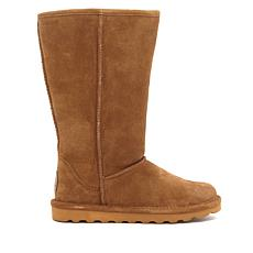 BEARPAW® Elle Tall Suede Sheepskin Boot with NeverWet™