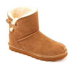 BEARPAW® Margery Suede Sheepskin Boot with NeverWet™